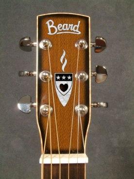 Beard Guitars, Jerry Douglas peghead